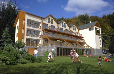 2008-Apartmenthaus für Erholung in Karpaten-Piesok, Developer : INCORP s.r.o., Kosten: 850.000 Euro
