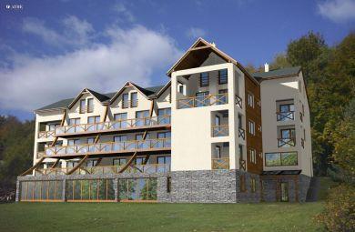 2008 - Apartmánový dom na Zochovej chate-realizačný projekt, investor : INCORP s.r.o., investičný náklad: 850.000 Eur